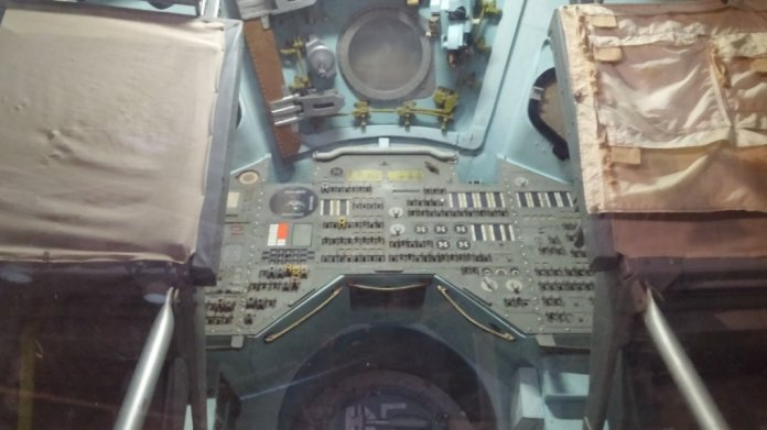 """This is the command module used in the movie """"Apollo 13"""""""