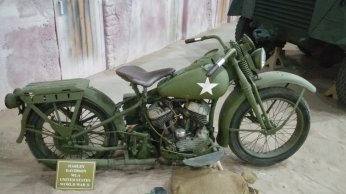 WWII Harley