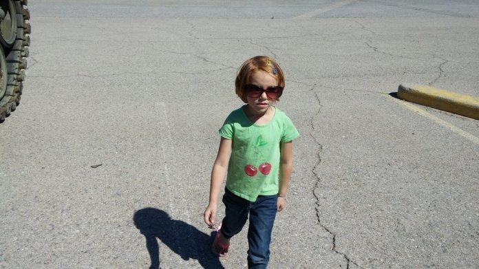 Walking like a California girl