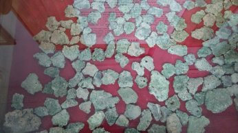 Trinitite - Melted sand & rock from Trinity Site detonation of first atomic bomb