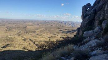 Climbing Guadalupe Peak
