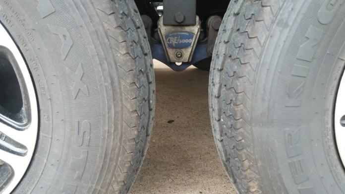 Bulging tires