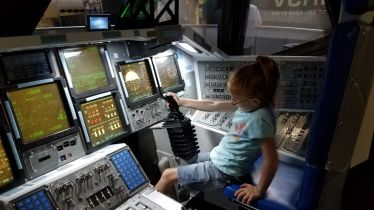 It's nothing, just flying a space shuttle