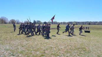 A Rebel Bayonet Charge