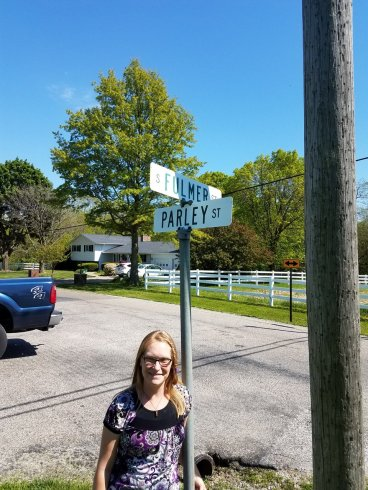 Street in Nauvoo named for an ancestor