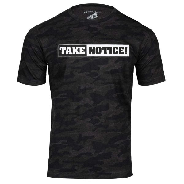 Camo Take Notice Shirt