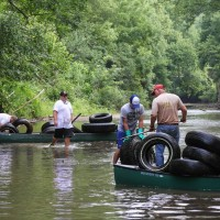 Fivemile Creek Clean up 2014