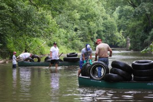 Fivemile Creek Clean up 2014