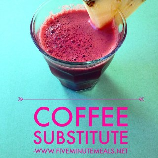 Natural Coffee Switch(it's Juice!)