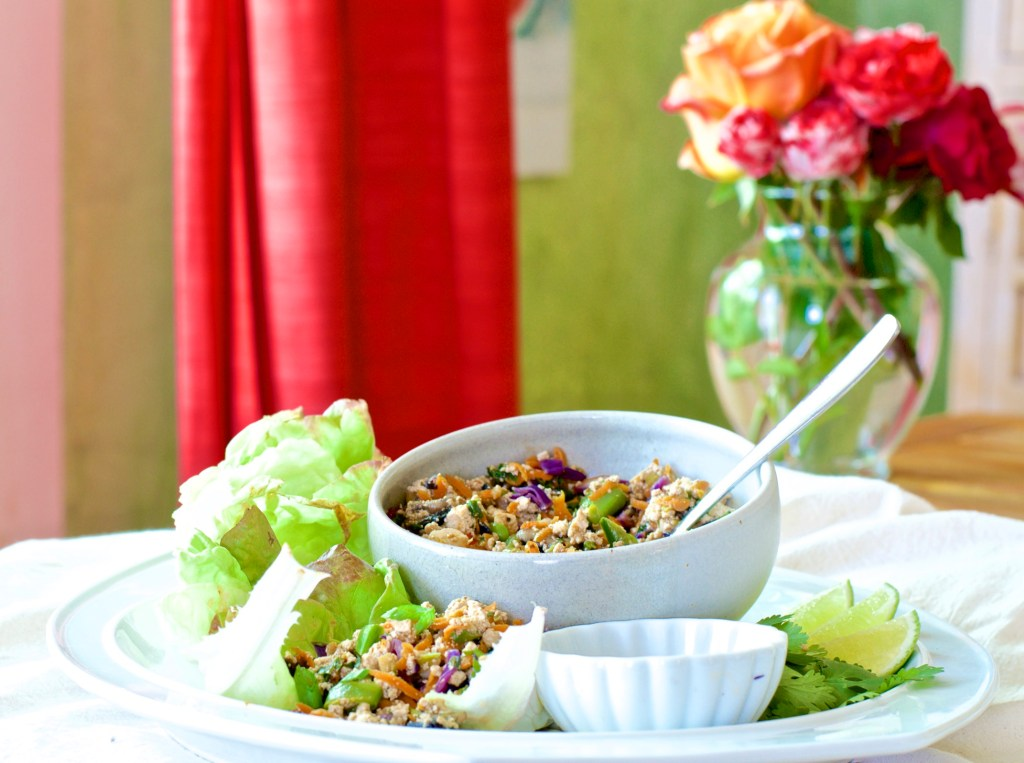 Vegan Lettuce Wraps 358