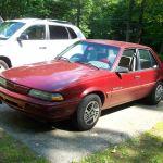 1993 Pontiac Sunbird Sedan Sohc