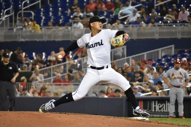 Jordan Yamamoto shuts down Cardinals in MLB debut
