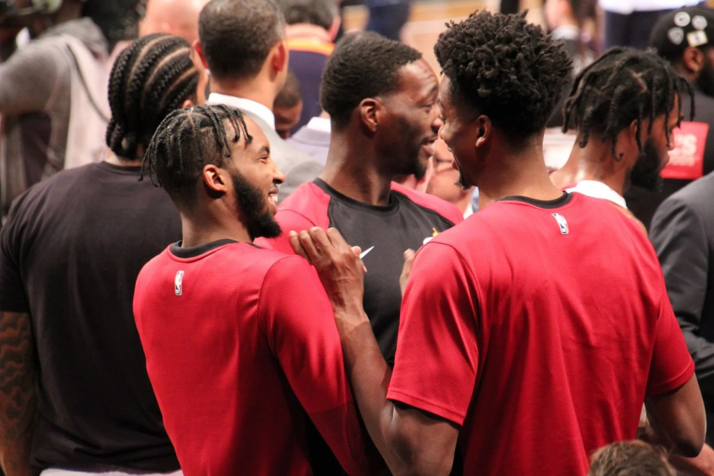 Guts Check: Harmless Hassan Heckling, Airplane Mode, Justise Better