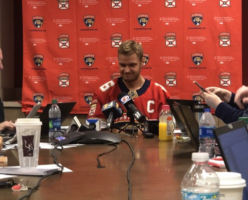 Florida Panthers open camp with high hopes