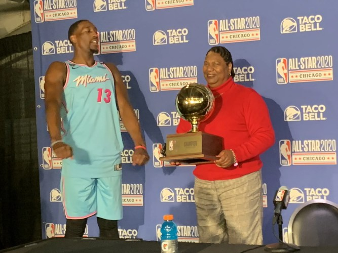 Bam Adebayo's Breakout Weekend Continues with Skills Win
