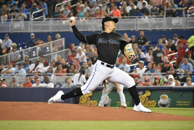 Five questions with Marlins rookie pitcher Jordan Yamamoto