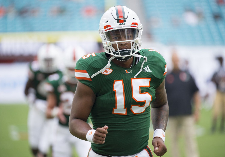 Miami Hurricanes name Jarren Williams QB1