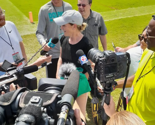 Miami Dolphins Camp Quickie Notes: Day 11