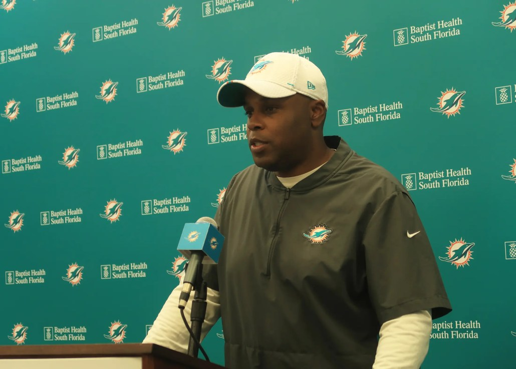 The pressure is on Chris Grier to rebuild the Miami Dolphins through the draft.