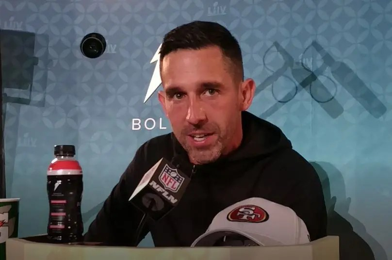 Kyle Shanahan sought players with high football character in building the 49ers' Super Bowl team. (Craig Davis for Five Reasons Sports Network)