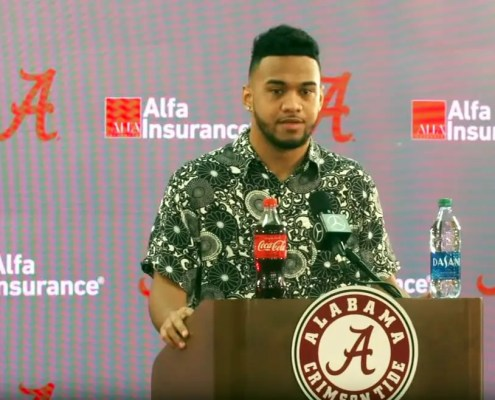 Tua Tagovailoa will work out for teams in April