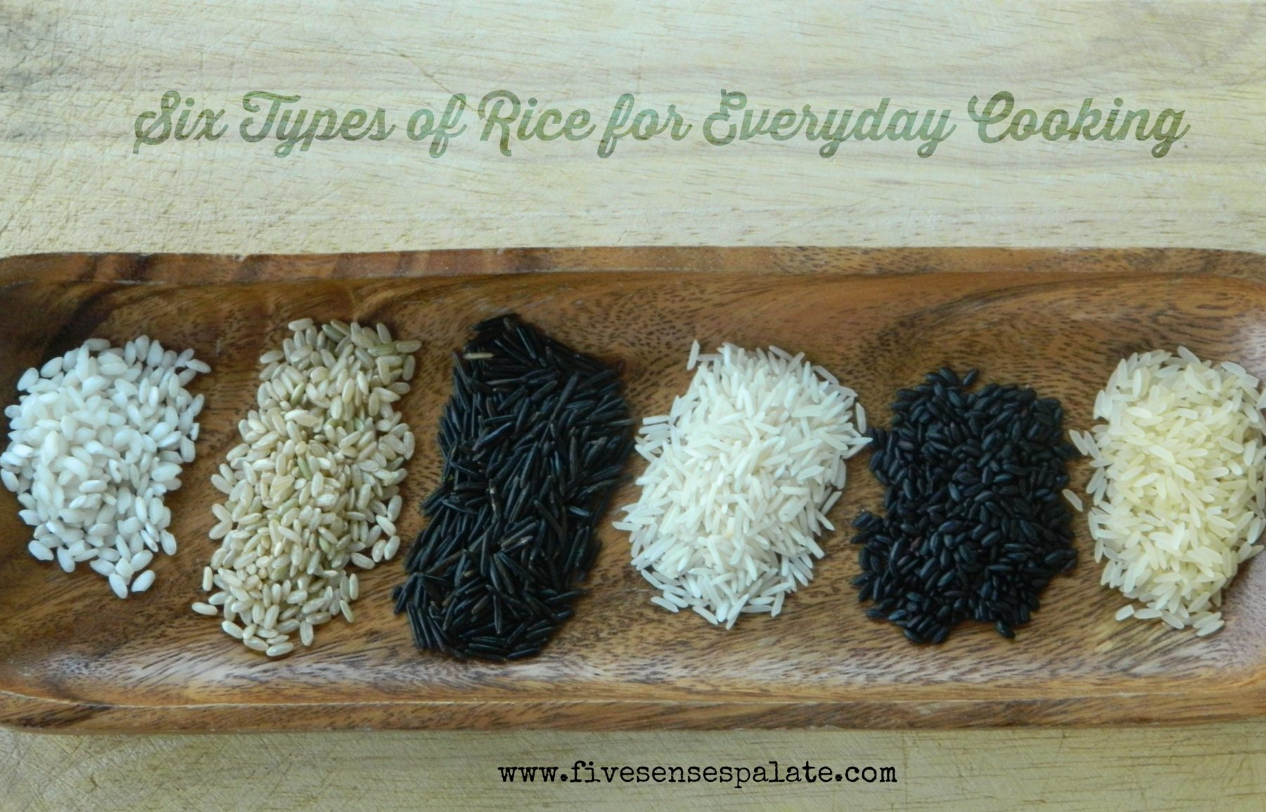 Rice it up 6 types of rice for everyday cooking five senses palate five senses palate - Six alternative uses of rice at home ...