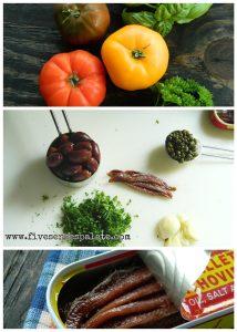 Puttanesca Recipe Ingredients