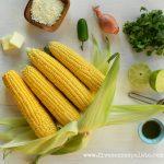 Grilled Corn Salad - Ingredients