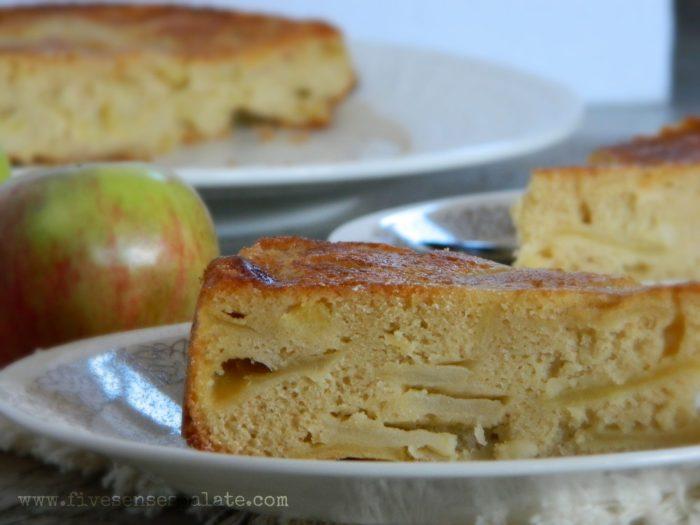 Buttery Apple Cake Recipe | Five Senses Palate
