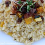 Delicata Squash Risotto with Pancetta