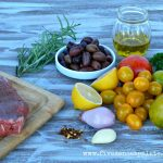 Flank steak with tomato tapenade recipe   Five Senses Palate