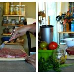 Flank steak with tomato tapenade recipe | Five Senses Palate