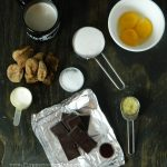 Cocholate, Fig and Ginger Custard Recipe | Five Senses Palate