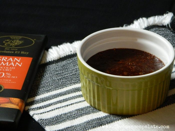 Chocolate, Fig and Ginger Custard Recipe | Five Senses Palate