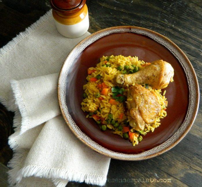 Arroz con Pollo Recipe | Five Senses Palate
