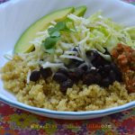 Quinoa Bowl with Black Beans & Salsa Recipe | Five Senses Palate