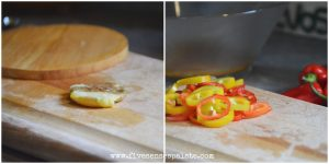 Smashed DYPs with Roasted Garlic & Sweet Peppers Recipe | Five Senses Palate