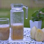 Pepino Melon & Chia Seeds Granita Recipe | Five Senses Palate