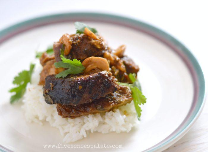 Crock-pot Cashew Chicken Recipe | Five Senses Palate