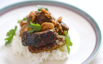 Crock-pot Cashew Chicken Recipe   Five Senses Palate