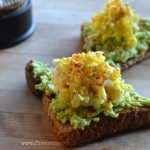 Avocado Toast with Shredded Egg Salad