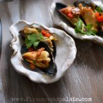 Mussels with Chorizo and Sweet Peppers + Oscars Night Appetizers