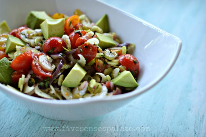 Tomato & Celery Salad with Cumin Recipe   Five Senses Palate