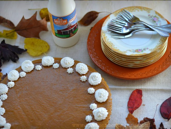Pumpkin Apple Brandy Mousse Tart Recipe | Five Senses Palate