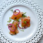 How to make salt cured salmon - Gravlax | Five Senses Palate