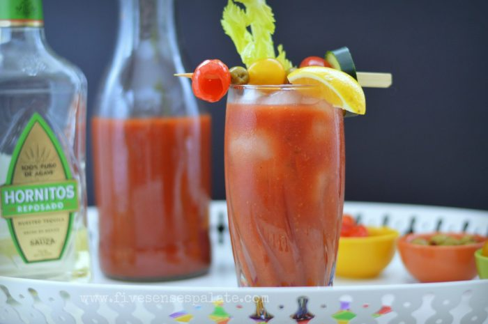 Homemade Bloody Mary Mix Recipe   Five Senses Palate