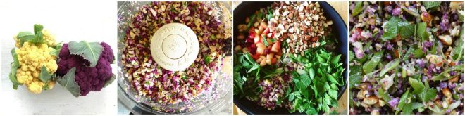 Cauliflower Rice Salad Recipe | Five Senses Palate