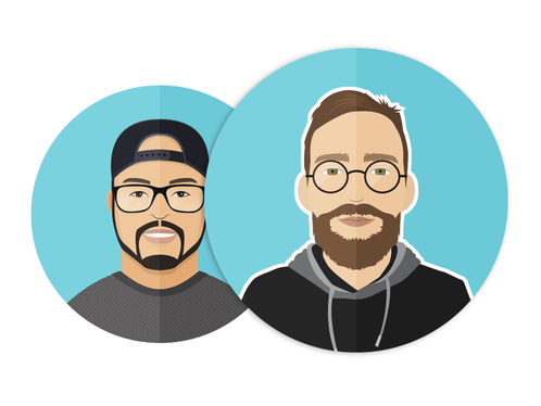 Create Flat Style Vector Avatar Or Portrait Of You for 1635 Illustratology fivesquid