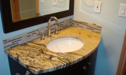 granite slab sink remodel seattle bellevue