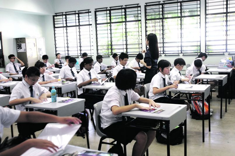 Mathematics in Singapore
